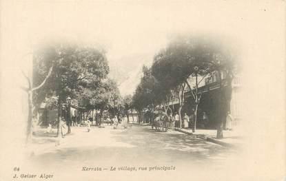 "CPA ALGERIE ""Kerrata, le village"" / GEISER"