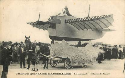 "CPA FRANCE 13 ""Marseille, la grande quinzaine marseillaise"" / CARNAVAL"