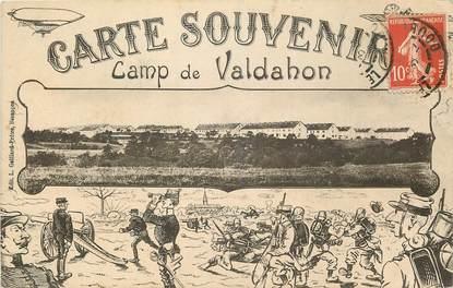 """CPA FRANCE 25 """"Camp de Valdahon, carte souvenir"""""""