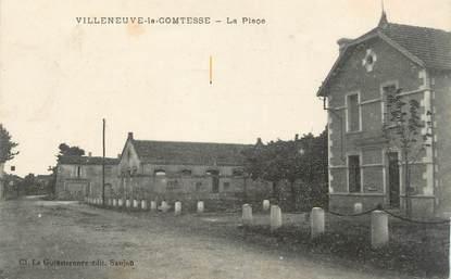 """CPA FRANCE 17 """"Villeneuve la Comtesse"""""""