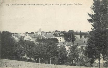 """/ CPA FRANCE 43 """"Montfaucon en Velay, vue générale"""""""