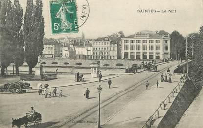 """CPA FRANCE 17 """"Saintes, le pont"""""""