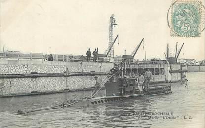 "CPA FRANCE 17 ""La Rochelle, sous marin"""