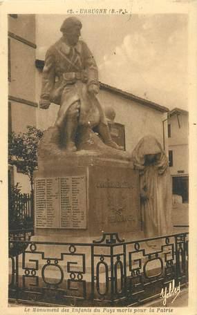 """CPA FRANCE 64 """"Urrugne, le monument aux morts"""""""