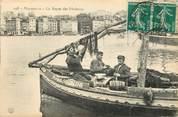 """13 Bouch Du Rhone CPA FRANCE 13 """"Marseille, le repas des pêcheurs"""""""
