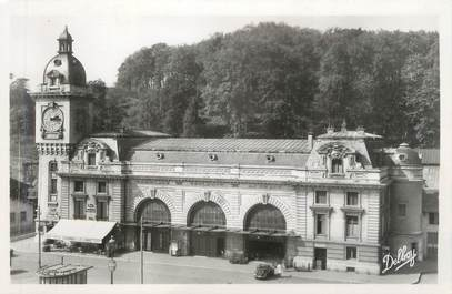 """CPSM FRANCE 64 """"Bayonne, la gare"""""""