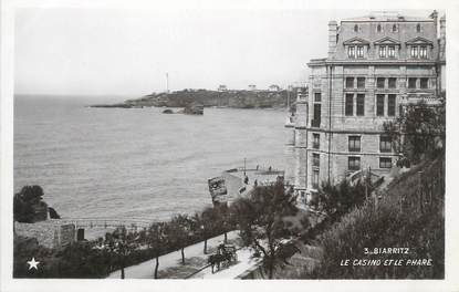 "CPA FRANCE 64 ""Biarritz, le casino"""