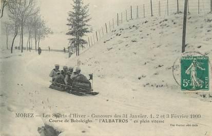 """CPA FRANCE 39 """" Morez, sport d'hiver """""""