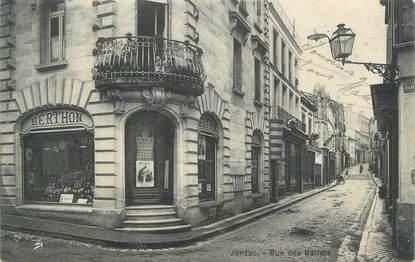 "CPA FRANCE 17 "" Jonzac, rue des Ballets """