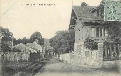 """CPA FRANCE 91 """"Limours, rue du couvent"""""""