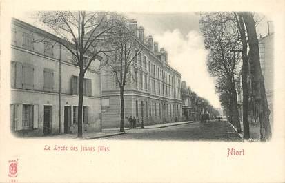 """CPA FRANCE 79 """"Niort, le lycée de jeunes filles"""""""
