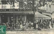 """69 RhÔne CPA FRANCE 69 """"Lyon, Grand café, Bld des Brotteaux, Pr. BOUSQUET"""""""