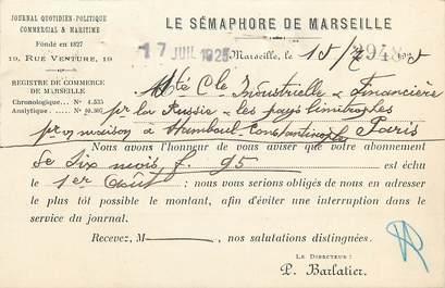 """CPA FRANCE 13 """"Marseille"""" / Sémaphore"""