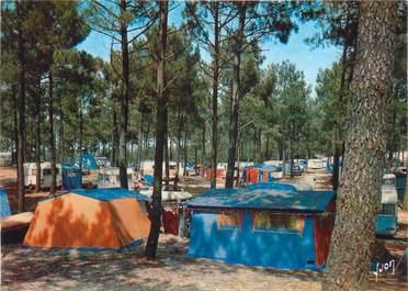 "CPSM FRANCE 33 ""Lacanau Océan, camping"""
