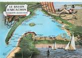 "33 Gironde CPSM FRANCE 33 ""Bassin d'Arcachon"""