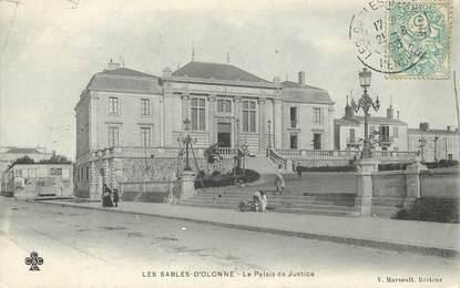 """CPA FRANCE 85 """"Sables d'Olonne, le palais de justice """""""