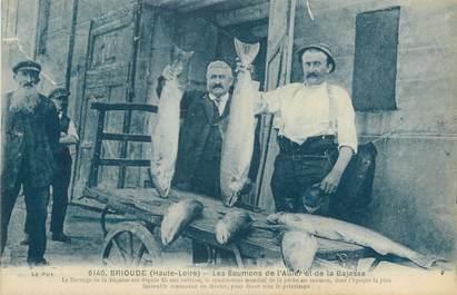 """CPA FRANCE 43 """"Brioude, Les saumons de l'Allier eet de la Bajasse"""""""