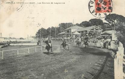"""CPA FRANCE 83 """"la Seyne, les courses de Lagourian"""""""