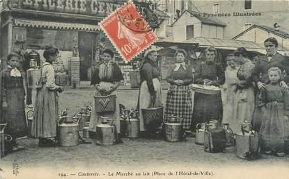 """CPA FRANCE 65 """"Cauterets, le marché au Lait"""""""
