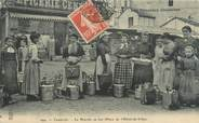 """65 Haute PyrÉnÉe CPA FRANCE 65 """"Cauterets, le marché au Lait"""""""