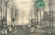 """02 Aisne CPA FRANCE 02 """"Montbrehain, jardin des Archers"""""""