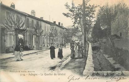 """CPA FRANCE 13 """"Aubagne, le quartier du Général"""""""