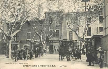 """CPA FRANCE 13 """"Chateaurenard de Provence, la place"""""""