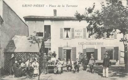"""CPA FRANCE 69 """"Saint Priest, place de la Terrasse"""""""