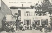 "69 RhÔne CPA FRANCE 69 ""Saint Priest, place de la Terrasse"""