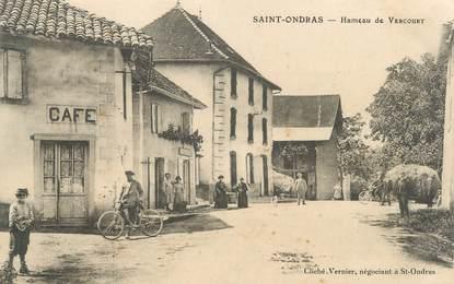 """CPA FRANCE 38 """"Saint Ondras"""""""