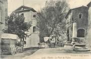 """13 Bouch Du Rhone CPA FRANCE 13 """"Vitroles, la place de l'Eglise"""""""