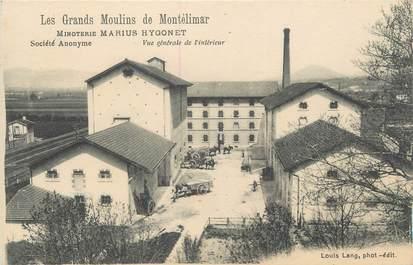 """CPA FRANCE 26 """"Montélimar, Les Grands Moulins, Minoterie"""""""