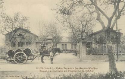 """CPA FRANCE 13 """"Salon, Union fermière des Grands Moulins"""""""