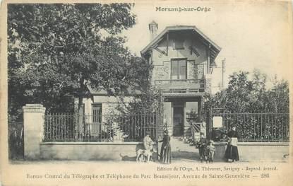 """CPA FRANCE 91 """"Morsang sur Orge, bureau des Télégraphes"""""""