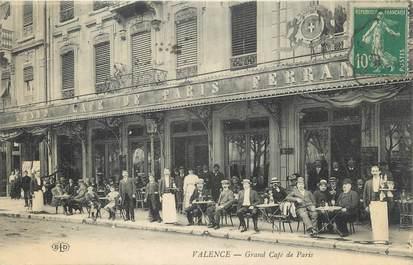 "CPA FRANCE 26 ""Valence, grand café de Paris"""