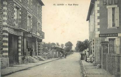"CPA FRANCE 91 "" Juvisy sur Orge, rue Blazy, boulangerie """