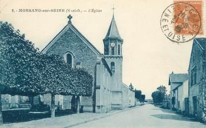 "CPA FRANCE 91 "" Morsang sur seine, l'église """