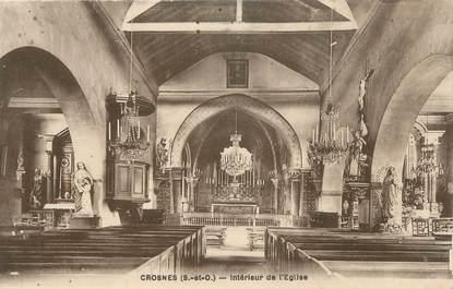"CPA FRANCE 91 "" Crosnes, église """