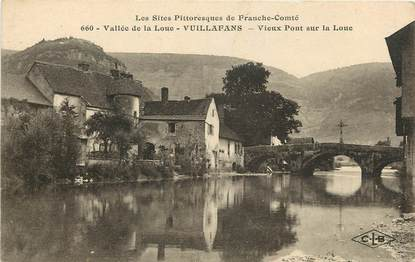 """CPA FRANCE 25 """"Vuillafans, vallée de la Loue"""""""