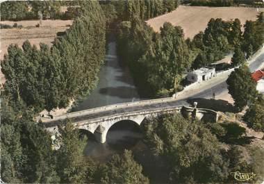 """/ CPSM FRANCE 32 """"Mirande, le pont sur la Baise"""""""