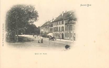 """CPA FRANCE 88 """"Sait Dié, quai du Parc"""""""