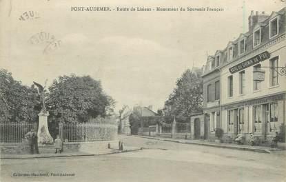 """CPA FRANCE 27 """" Pont Audemer, monument aux morts """""""