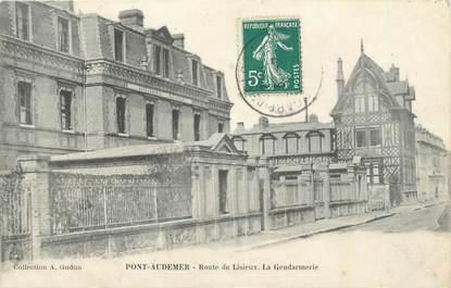 """CPA FRANCE 27 """" Pont Audemer """" / LA GENDARMERIE"""