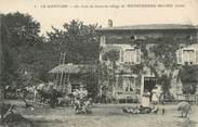 """38 Isere CPA FRANCE 38 """"Le Gontard, un coin de ferme du village de Monsteroux Milieu"""""""