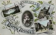"""13 Bouch Du Rhone CPA FRANCE 13 """"Marseille, Bonne Année"""""""