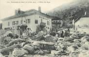 """73 Savoie CPA FRANCE 73 """"Catastrophe de Bozel, Hotel des Alpes"""""""