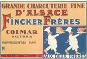 "68 Haut Rhin CPA FRANCE 68 ""Colmar"" / HANZI"