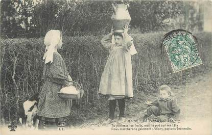 """CPA FRANCE 87 """" Notre Limousin, la petite laitière """""""