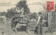 """87 Haute Vienne CPA FRANCE 87 """" Notre Limousin, une chevauchée dans les bois """""""