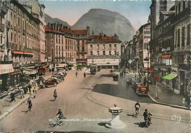 "CPSM FRANCE 38 "" Grenoble, place Grenette """